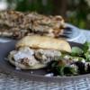 Spiedie Chicken Sandwiches