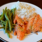 Grilled Kokanee Salmon