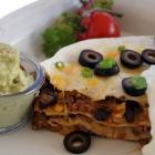 Stacked Cowboy Enchiladas
