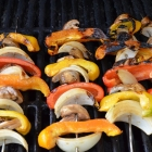 Grilled Vege Kabobs - Amazing!