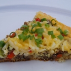 Dutch Oven Breakfast Pizza