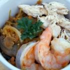 Grilled Spaghetti Squash Pad Thai