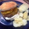 Pina Colada Burgers