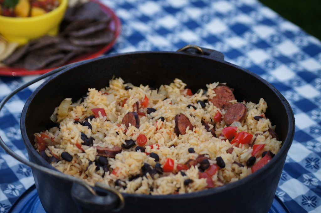Rice with Sausage and Black Beans