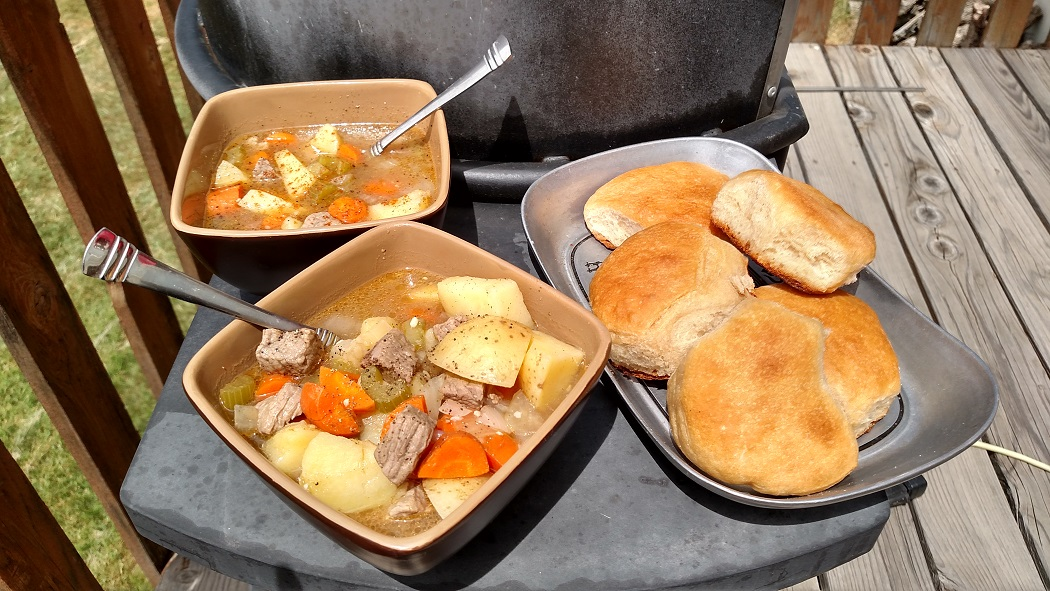 Dutch Oven Buffalo Stew And Biscuits And A Pioneer Day Guest Post