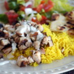 Indian Chicken with Yellow Rice