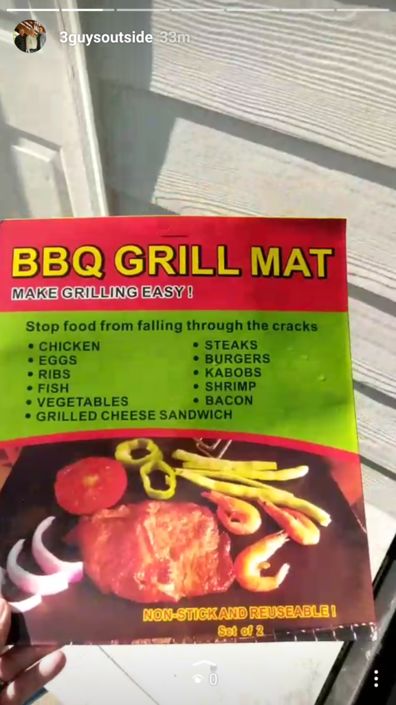 Grill Mats, Grilled Chicken Legs