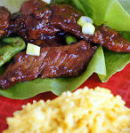 Mongolian Beef Lettuce Wraps